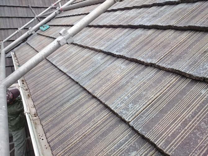 11今日は屋根の塗装です-min