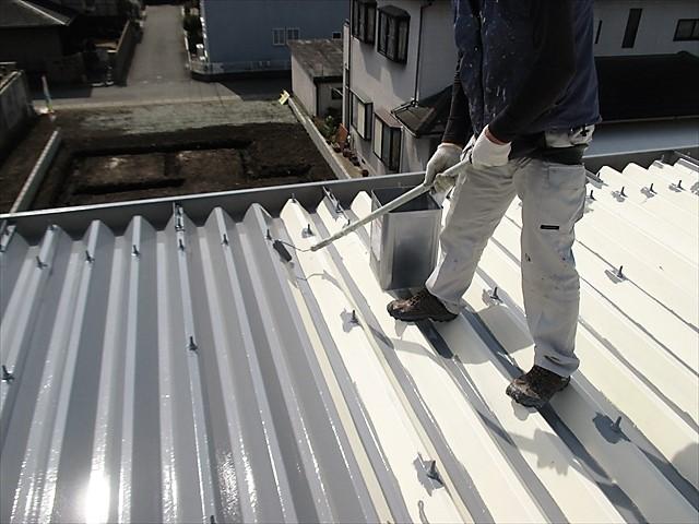 折板屋根上塗り3 20170316_R